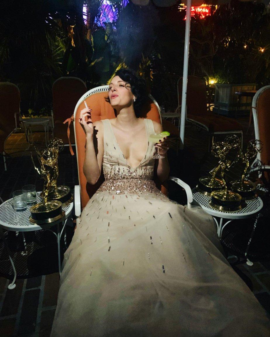 Phoebe Waller Bridge_Emmys 2019_Fleabag win